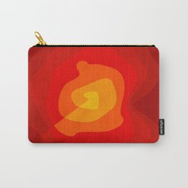 Red Vibrations Carry-All Pouch