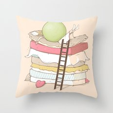Can't sleep Throw Pillow