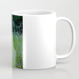 Field of flowers and Dandelions (2) Coffee Mug