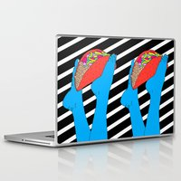 taco Laptop & iPad Skins featuring Taco Time by Tyler Spangler
