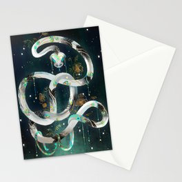 The Rainbow Serpent Stationery Cards