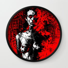 The Red Nightmare - Old Love Wall Clock