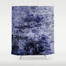 Lunar Ice Shower Curtain