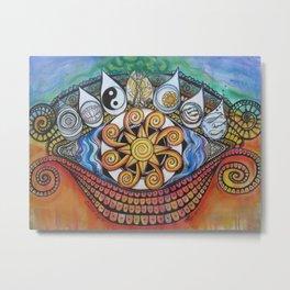 Cosmic Eye II Metal Print