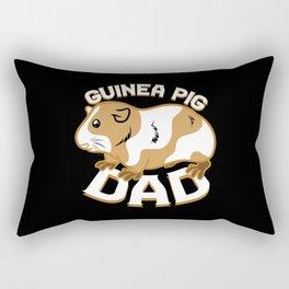 Guinea Pig Dad Rectangular Pillow