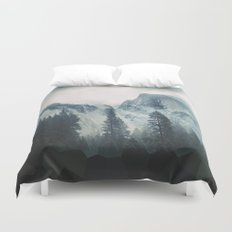 Cross Mountains Duvet Cover