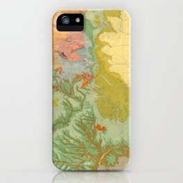 Vintage Southwest Map iPhone Case