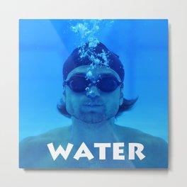under water 1 Metal Print