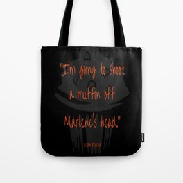 Divergent - Uriah - Shoot Muffin Off Marlenes Head Tote Bag