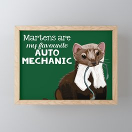My favourite Auto mechanic Framed Mini Art Print