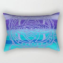 Serenity Turtle Rectangular Pillow