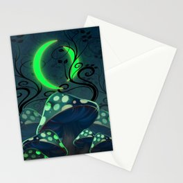 The Two Moons Stationery Cards