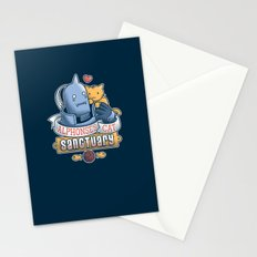 Alphonse's Cat Sanctuary Stationery Cards