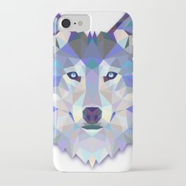Colorful Wolf iPhone Case