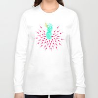 pineapple Long Sleeve T-shirts featuring Pineapple by mark ashkenazi