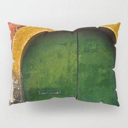 Magic Green Door in Sicily  Pillow Sham