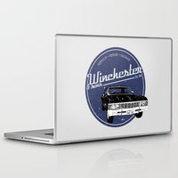 winchester Laptop & iPad Skins featuring Winchester & sons by mostly10