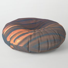 We Have Copper Dreams at Night Floor Pillow