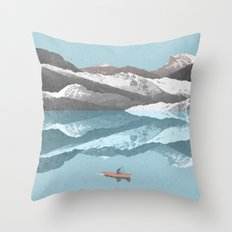 No River Wide Enough Throw Pillow