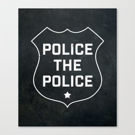 Police The Police Canvas Print