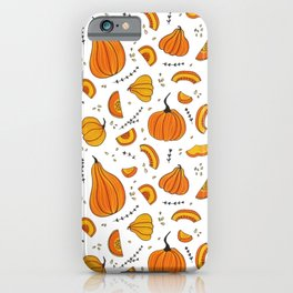 Rustic Country Autumn Fall Pumpkin iPhone Case