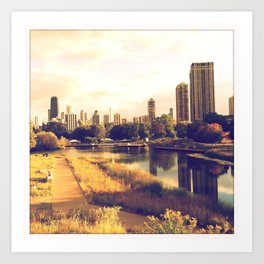 From the Zoo, Chicago 2011 Art Print