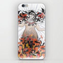 Gaia in Turmoil iPhone Skin