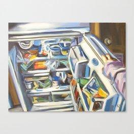 Complacency, Refrigerator Canvas Print