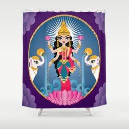 Lakshmi Shower Curtain