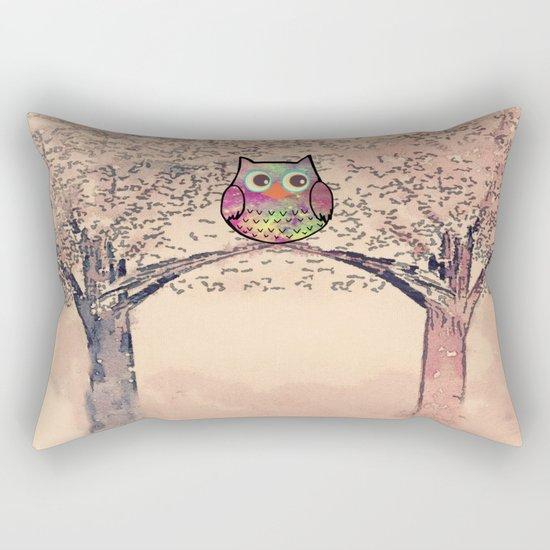 owl-245 Rectangular Pillow