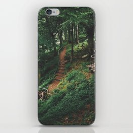 Fairytale Forest, Isle Of Mull iPhone Skin