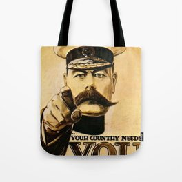 Your Country Needs You Lord Kitchener Tote Bag