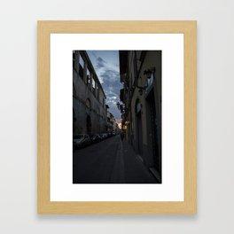 Italy at Twilight Framed Art Print