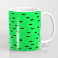 kiwi Mugs featuring Kiwi by TheseRmyDesigns