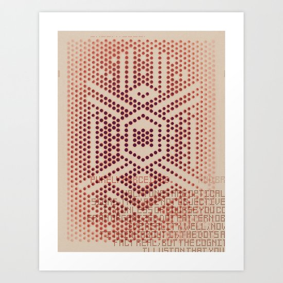 Purely Perceived Art Print
