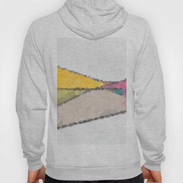 Stained Glass Landscape Hoody