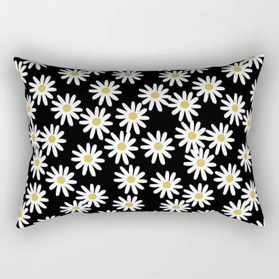 Daisies by Andrea Lauren Rectangular Pillow