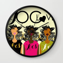 LOC LOVE Wall Clock