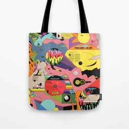 Climate Jazz Tote Bag