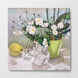 The quince Metal Print