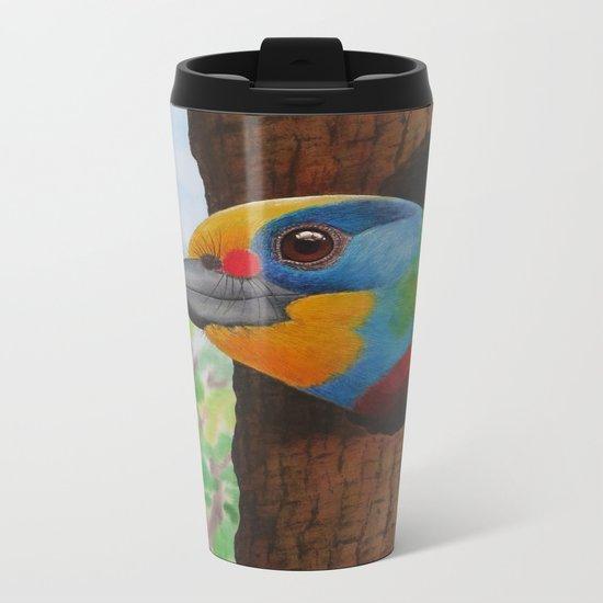 Beautiful Bird Metal Travel Mug
