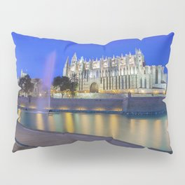 Palma Cathedral,Mallorca,Spain Pillow Sham