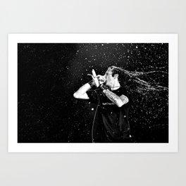 Randy Blythe/Lamb of God Art Print