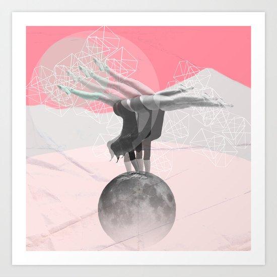 L'équilibre Art Print