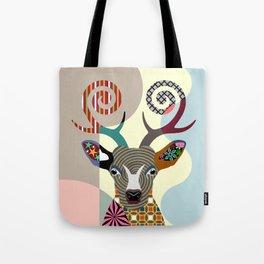 Spectrum Deer Tote Bag
