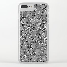 Superwarped Polka Dot Freakout Clear iPhone Case