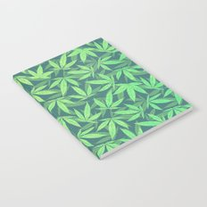 Cannabis / Hemp / 420 / Marijuana  - Pattern Notebook