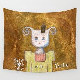 Princess Yvette Wall Tapestry