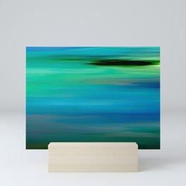 Seascape - blurography Mini Art Print