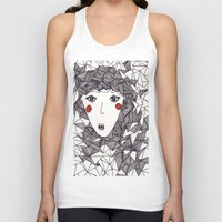 the who Tank Tops featuring who by Eliza L
